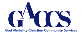 God Almighty Christian Community Services, Logo